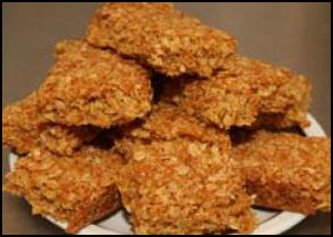 Microwave Honey Flapjack